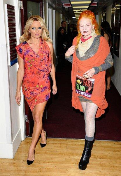 Памела Андерсон стала лицом рекламной кампании Vivienne Westwood