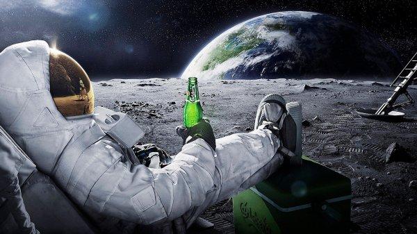 В США студенты проверят, можно ли сварить пиво на Луне