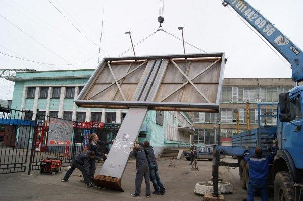 В Раменком районе демонтируют незаконные рекламные конструкции