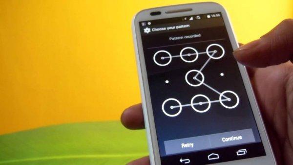 Хакеры научились взламывать систему защиты Pattern Lock на Android-гаджетах