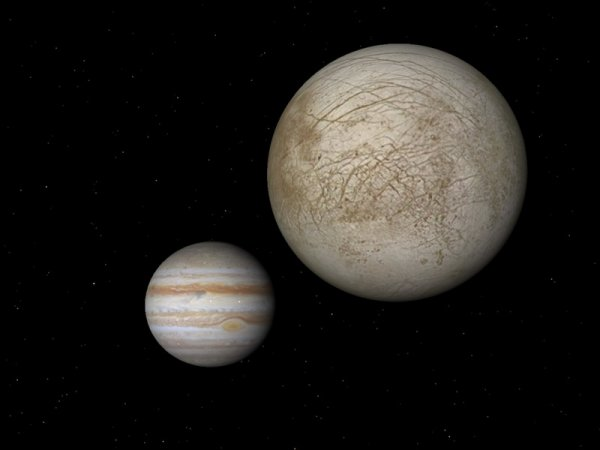 На спутнике Юпитера обнаружена корона водорода