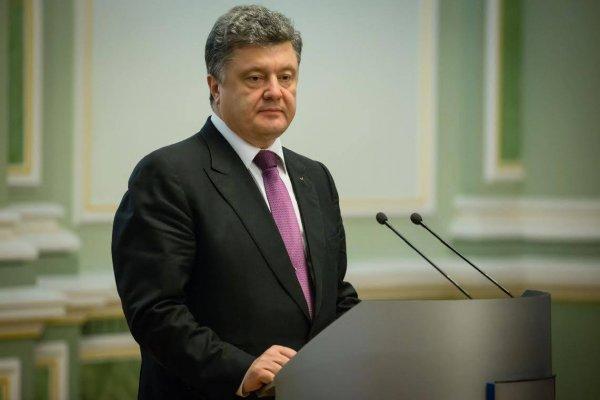 Порошенко выступил за ужесточение санкций против России