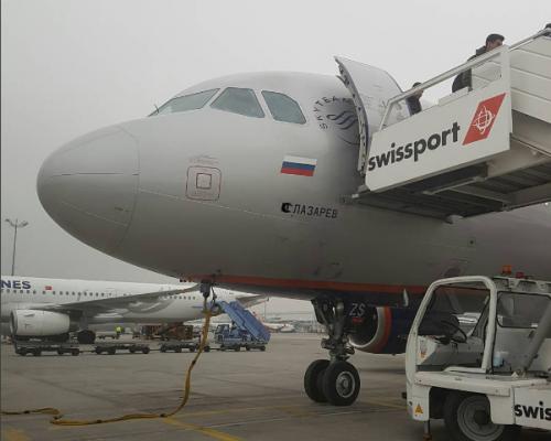 Сергей Лазарев похвастался названным в его честь самолетом
