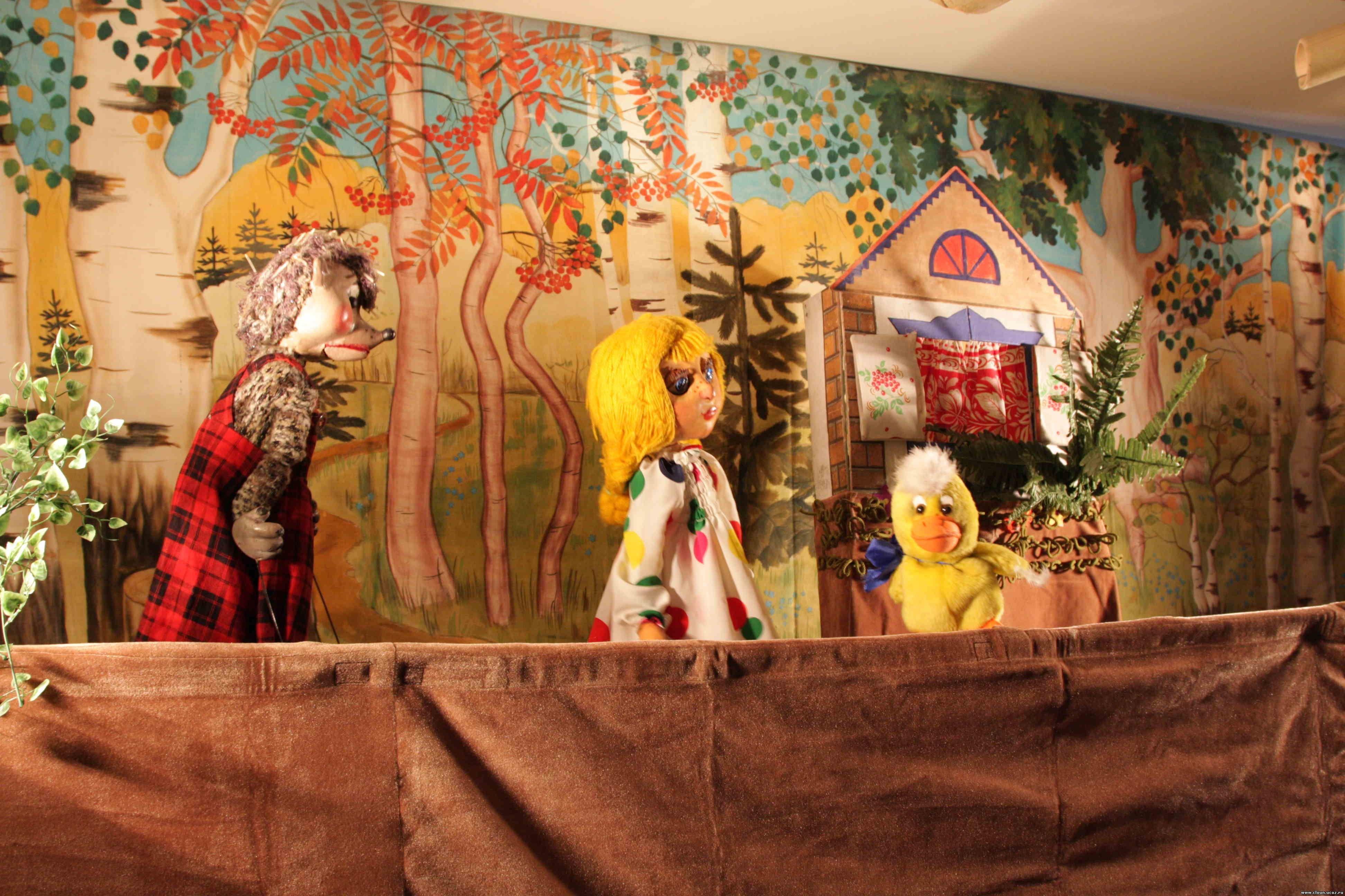 Кукольные спектакли для детей фото