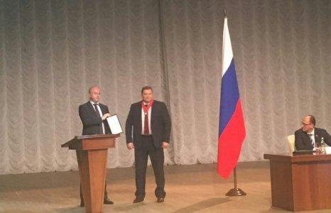 Андрей Дунаев получил грамоту за «высокий профессионализм и эффективное взаимодействие»