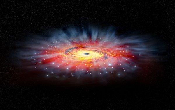 Хвост черной дыры-паразита может скрываться в нашей галактике