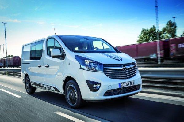 Стартовал прием заказов на Opel Vivaro Sport