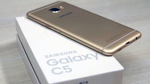 Появился новый вариант смартфона Samsung Galaxy C5 Pro