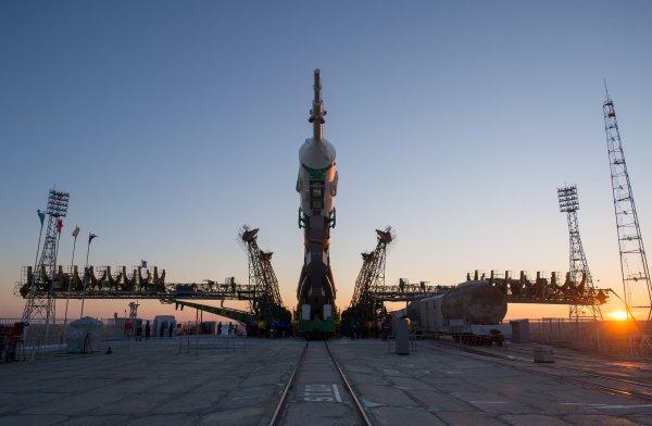 """Космодром """"Восточный"""" готовится к новому пуску ракеты"""