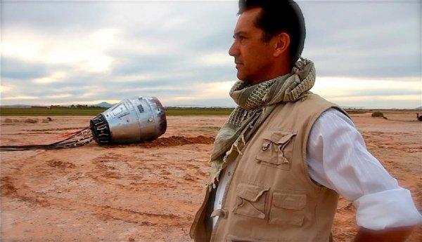 В Аризоне у обочины дороги найдена космическая капсула