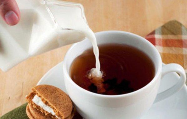 гречишный чай с молоком