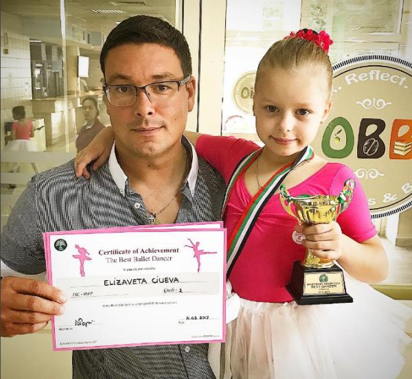 Дочь Андрея Чуева победила в международном балетном соревновании