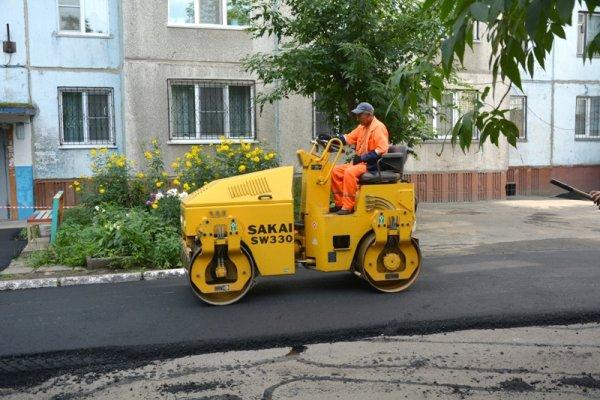 В Саратове отремонтируют 100 дворов к концу 2017 года