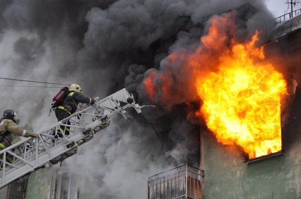 В северной части Москвы в пожаре погиб четырехлетний ребенок