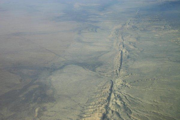 Тектонический разлом поставил под угрозу исчезновения побережья Калифорнии