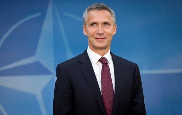 Генсек НАТО Йенс Столтенберг проведет встречу с президентом Украины Петром Порошенко