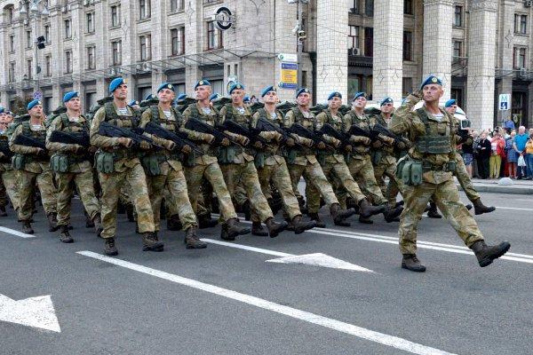 Украинские войска вновь сражаются с батальоном «Аскер» на границе с Крымом