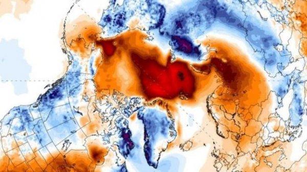 NASA заявляет о третьем мировом температурном рекорде в январе