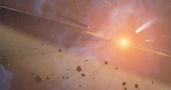 Пользователи Сети удостоились чести называть астероиды своими именами
