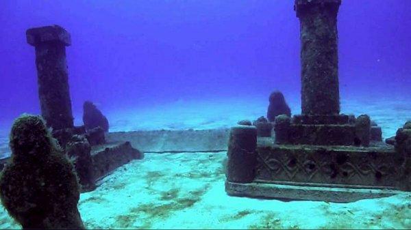 Возле Бермудского треугольника ученые обнаружили затонувший город