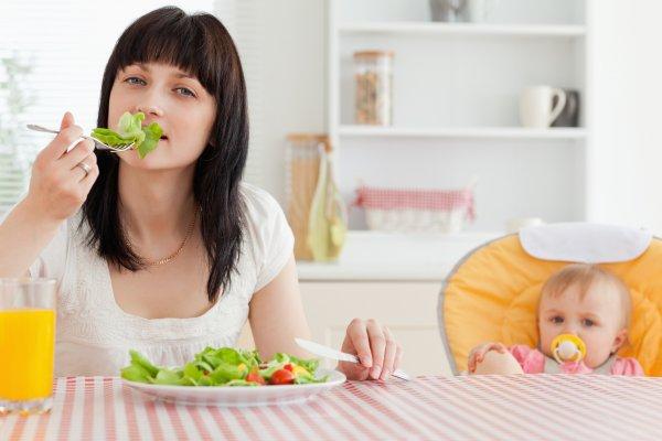 Ученые определили, что вес женщины после рождения ребенка зависит от нее самой