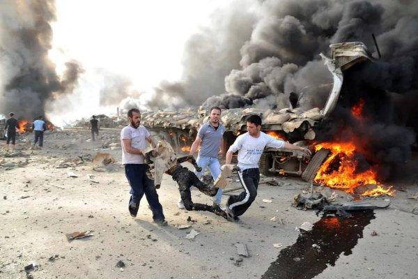 Смертники в Хомсе унесли жизни порядка 15 человек