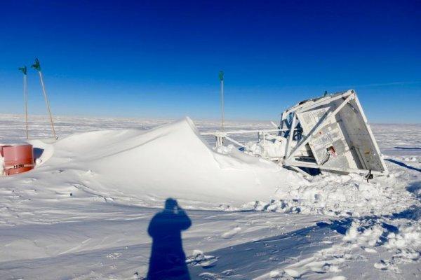 В Антарктиде NASA обнаружили исследовательский шар спустя год после его пропажи
