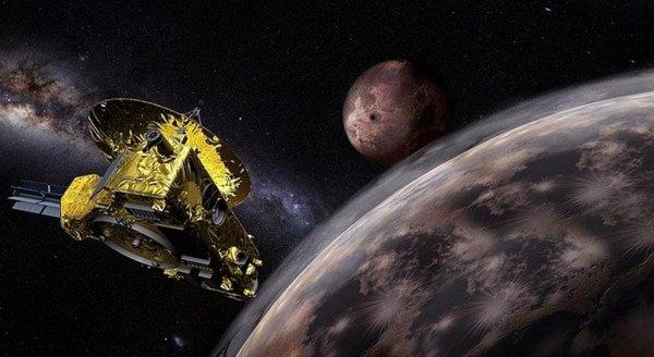 Утвердили темы названий объектов на Плутоне и его спутниках