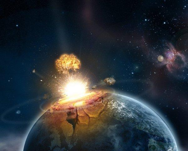 Ученые: Падение крупного астероида на Землю убьет миллионы людей