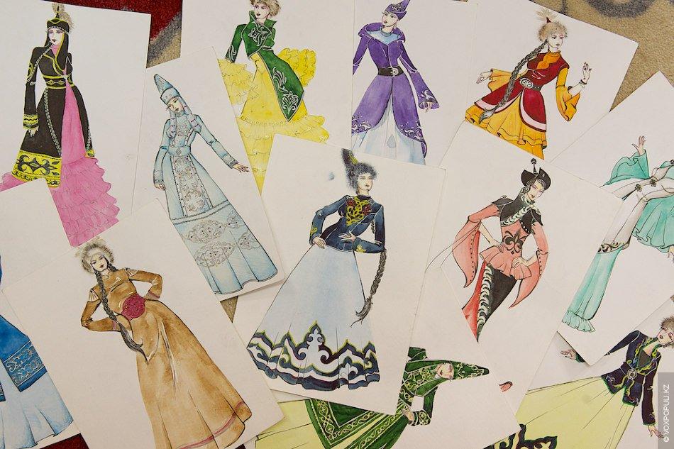 Дизайн национальных одежд
