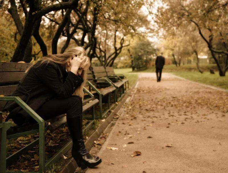 Фото расставание с любимым человеком
