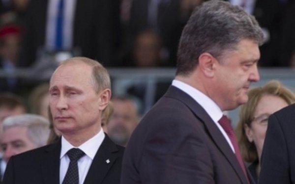 Порошенко и Путин говорили по поводу обострения ситуации в Донбассе