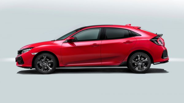 Рассекречен новый седан Honda Civic SI