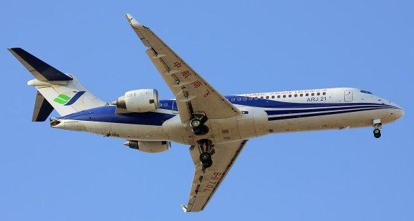 В Китае успешно испытали самолет ARJ21-700 на высокогорье