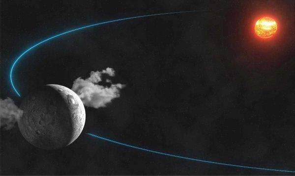 Ученый обнаружил на планете Церера высокую башню