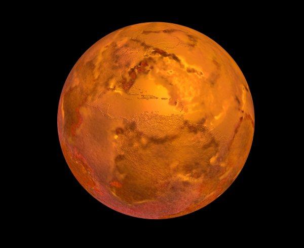 Меркурий пробудет в ночном небе над Москвой до конца марта