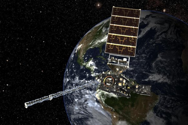 NASA представила первые фотографии с орбитального детектора молний