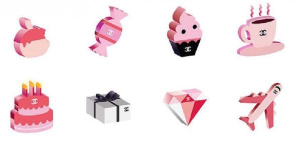 Chanel выпустил собственные эмодзи для iPhone