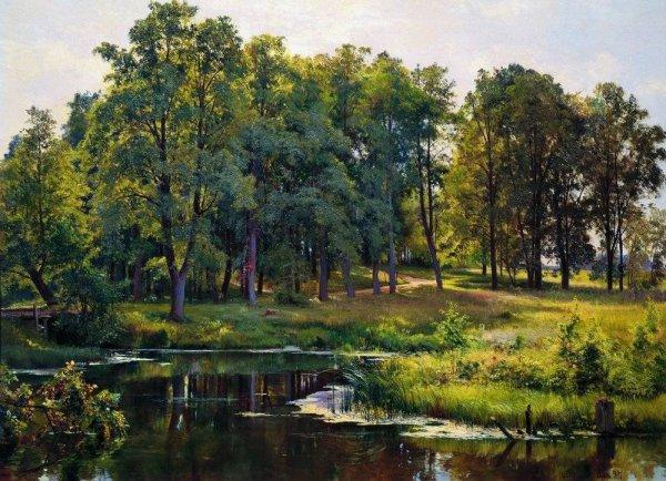 15 марта в Истре откроется выставка картин Ивана Шишкина