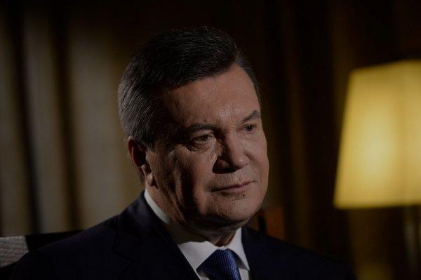 Украина прекратила заочное расследование госизмены Януковича