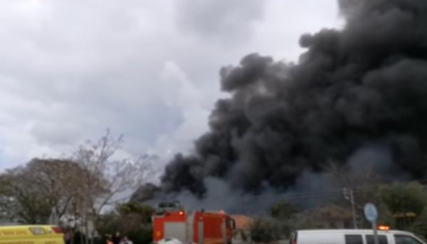 На заводе пиротехники в Израиле прогремел взрыв