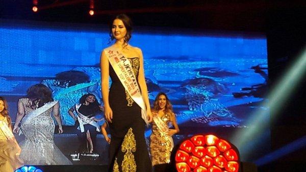 В международном конкурсе красоты в Китае победила таджичка
