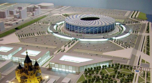 Расходы на содержание стадиона «Нижний Новгород» составят более 350 млн рублей в год