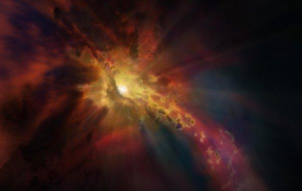 Ученые обнаружили чёрную дыру, которая «пожирала» осколки звезды