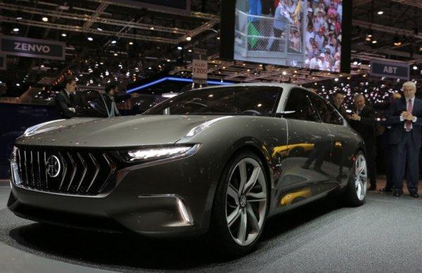 Концепт Н600, разработанный инженерами Pininfarina станет серийным