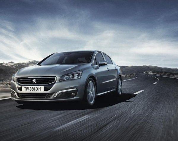 Peugeot выпустит обновленную модель 508