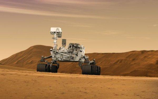 Уфолог обнаружил на Марсе загадочную статую