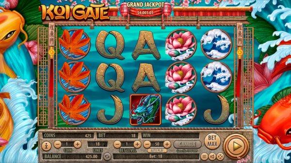 Разработчик Habanero продемонстрировал игровой автомат Koi Gate
