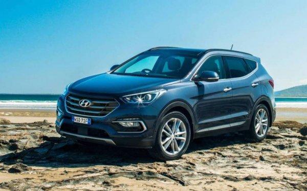 В Австралии начались продажи нового Hyundai Santa Fe Active X