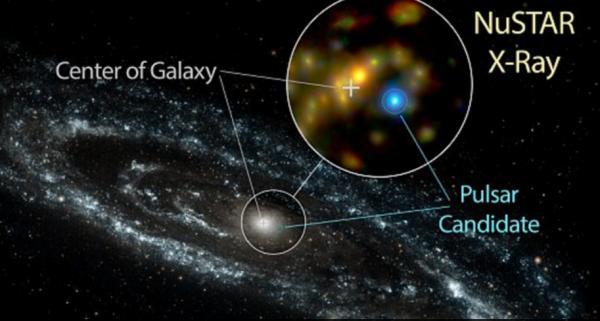 Учёные определили источник рентгеновского излучения в галактике Андромеда